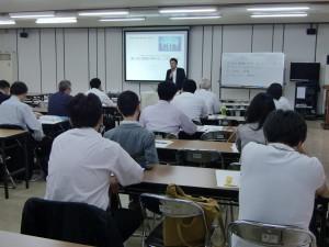 セミナーの様子(東京商工会議所主催若手経営者対象)